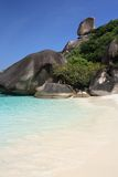 Îles de Similan, Thaïlande, Phuket Photos libres de droits