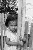 ÎLES de TOGEAN - 5 septembre 2014 portrait de gir non identifié Image stock