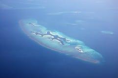 Îles de vue aérienne Photographie stock libre de droits
