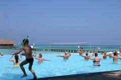 Îles des Maldives Photographie stock