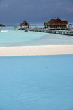 Îles des Maldives Photos libres de droits