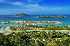 Îles des Seychelles Photographie stock libre de droits