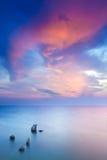 Îles en mer Photographie stock