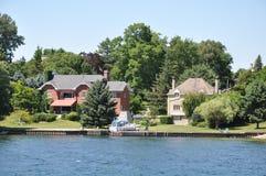 1000 îles et Kingston dans Ontario Photographie stock libre de droits
