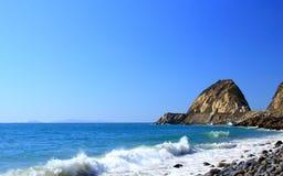 Îles et point Mugu, CA de la Manche Photos stock