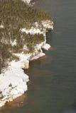Îles le Wisconsin d'apôtre image stock