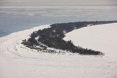 Îles le Wisconsin d'apôtre du Long Island Photographie stock libre de droits
