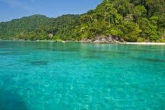 Îles parc national, Thaïlande de Surin Image libre de droits