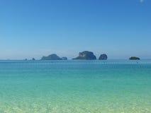 Îles thaïes Images libres de droits