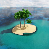 Îles tropicales illustration stock