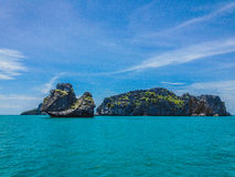 Îles tropicales, Koh Ang Thong photographie stock