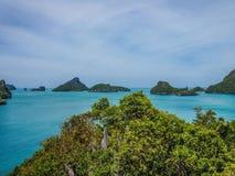 Îles tropicales, Koh Ang Thong image stock