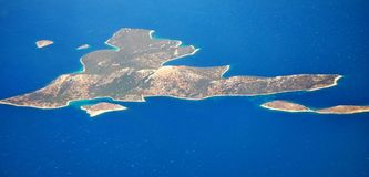îlots Images libres de droits
