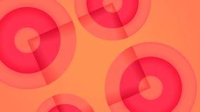 Ρόδινο αφηρημένο γεωμετρικό υπόβαθρο κοραλλιών απεικόνιση αποθεμάτων
