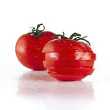 Sliced tomatos Royalty Free Stock Photos