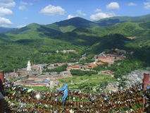 (Mount Wutai)WUTAISHAN Royalty Free Stock Photos