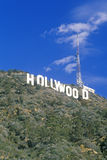 �Hollywood� sign on the hillsides of Hollywood, Los Angeles, California Royalty Free Stock Photography
