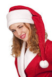 �oquette Santa Royalty Free Stock Photography