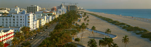 �SOBE� south beach, Miami Beach, Florida Royalty Free Stock Images