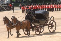 �the Queen�s Birthday Parade�. Royalty Free Stock Image