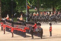 �the Queen�s Birthday Parade�. Stock Photos