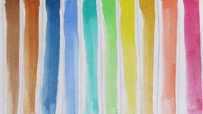 Όμορφες σκιές Watercolors ελεύθερη απεικόνιση δικαιώματος