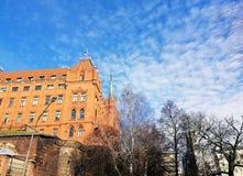 Όμορφη παλαιά αρχιτεκτονική Szczecin, Πολωνία στοκ φωτογραφία με δικαίωμα ελεύθερης χρήσης