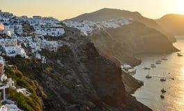 Όμορφο νησί Santorini, Ελλάδα στοκ φωτογραφίες με δικαίωμα ελεύθερης χρήσης