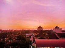 Όμορφο πρωί στη Μαλαισία στοκ εικόνα με δικαίωμα ελεύθερης χρήσης