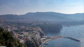 όψη της Ιταλίας Σορέντο στοκ φωτογραφία με δικαίωμα ελεύθερης χρήσης
