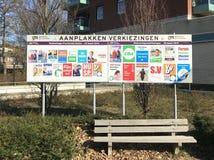 Σημάδια εκλογής για τις ολλανδικές επαρχιακές εκλογές του 2019 στοκ φωτογραφίες με δικαίωμα ελεύθερης χρήσης