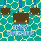 Σημάδι κειμένων που παρουσιάζει Χαρούμενα Χριστούγεννα Εννοιολογικός εορτασμός Δεκέμβριος περιόδου διακοπών φωτογραφιών απεικόνιση αποθεμάτων