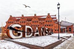 Σημάδι πόλεων με μια κορδέλλα πένθους, χειμερινή άποψη στοκ εικόνες με δικαίωμα ελεύθερης χρήσης