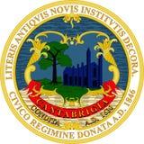 Σημαία του Καίμπριτζ, ΗΠΑ απεικόνιση αποθεμάτων