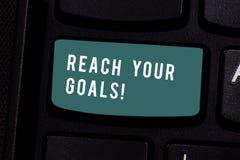 Σημείωση γραψίματος που παρουσιάζει στην προσιτότητα στόχους σας Η επίδειξη επιχειρησιακών φωτογραφιών επιτυγχάνει τι θελήσατε γι στοκ φωτογραφίες με δικαίωμα ελεύθερης χρήσης