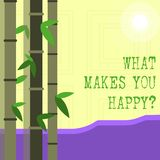 Σημείωση γραψίματος που παρουσιάζει τι σας κάνει Happyquestion Η ευτυχία επίδειξης επιχειρησιακών φωτογραφιών έρχεται με την αγάπ ελεύθερη απεικόνιση δικαιώματος
