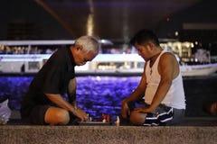 σκάκι Ταϊλανδός στοκ φωτογραφίες με δικαίωμα ελεύθερης χρήσης