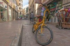 Σκηνή οδών στην περιοχή Deira, Ντουμπάι στοκ φωτογραφία με δικαίωμα ελεύθερης χρήσης