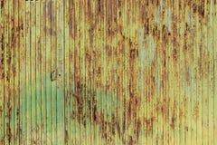 Σκουριασμένη πράσινη σύσταση μετάλλων, βρώμικη σύσταση μετάλλων στοκ φωτογραφίες
