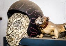 Σκυλί και αναβάτης φαντασμάτων στοκ εικόνες