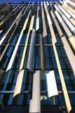 Σύγχρονος ζωηρόχρωμος η πρόσοψη της έδρας τράπεζας ASB, τέταρτο Wynyard, Ώκλαντ, Νέα Ζηλανδία στοκ εικόνες
