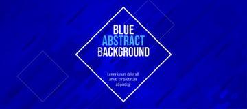 Σύγχρονο μπλε αφηρημένο υπόβαθρο χρώματος διασκέδασης εμβλημάτων διανυσματική απεικόνιση