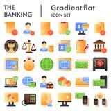 Σύνολο εικονιδίων κατάθεσης το επίπεδο, συλλογή συμβόλων χρηματοδότησης, διανυσματικά σκίτσα, απεικονίσεις λογότυπων, εμπόριο υπο απεικόνιση αποθεμάτων