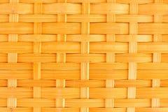 Σύσταση σχεδίων καλαθοπλεχτικής μπαμπού στοκ εικόνες με δικαίωμα ελεύθερης χρήσης