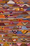 Σύσταση του παραδοσιακού τάπητα μαλλιού berber, Μαρόκο, Αφρική στοκ φωτογραφίες με δικαίωμα ελεύθερης χρήσης