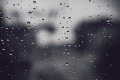 σταγόνες βροχής γυαλιού στοκ φωτογραφία με δικαίωμα ελεύθερης χρήσης