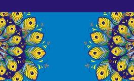 Σχέδιο φτερών Peacock απεικόνιση αποθεμάτων