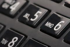 Σχηματίζοντας την έννοια τηλεφωνικών αριθμητικών πληκτρολογίων για την επικοινωνία, ελάτε σε επαφή με μας και την υποστήριξη εξυπ στοκ εικόνες