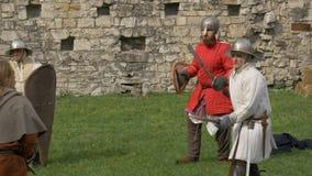 Συλλάβετε τον επιτιθέμενο Castle απόθεμα βίντεο