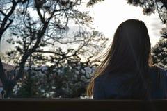 συνεδρίαση κοριτσιών παρ& στοκ φωτογραφίες με δικαίωμα ελεύθερης χρήσης